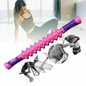 Yoga-Message-Roller-Muscle-Relief-Pain-Stick-Leg-Back-Relaxation-Physical-Therap
