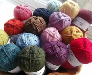 Blue Faced Leicester Yarn 50g balls West Yorkshire Spinners