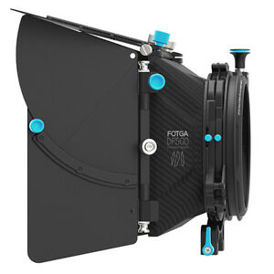 Fotga Dp500 Mark Iii Dslr Matte Box Swing-away Parasol Filtre Plateau Pour 15 Mm Rig-afficher Le Titre D'origine