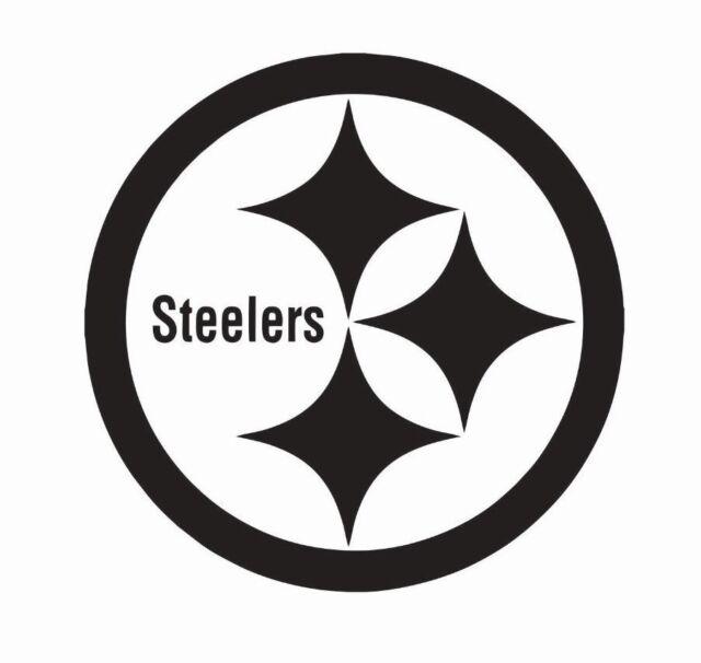 "PITTSBURG STEELERS vinyl decal sticker 6/""x5/"""