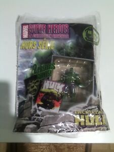HULK Eaglemoss Marvel Classic Collection Lead Figurine & Book Special figure