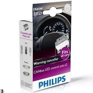 Philips-Canbus-Control-Unit-12V-5W-Cancelador-de-advertencia-LED-CEA5W-Twin