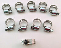 Ideal Box Of 10 Tridon Hose Clamps Size 04 / 8-16mm 5/16 - 5/8