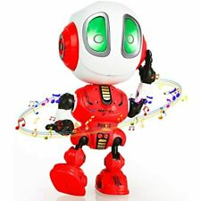 Mini Robot Toys That Repeats What You Say Toys for 2 3 4 5 6 7 8 Year Old Girls and Boys,Christmas Toys for Age 2+ Boys and Girls Gift Blue MING YING 66 Talking Robot for Kids Toys