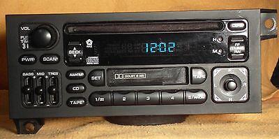 Chrysler Dodge Plymouth Jeep CD Cassette Player Radio 1984-2002 OEM P04704383
