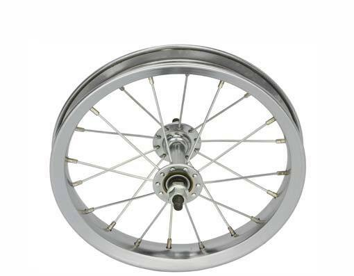 BICYCLE FRONT WHEEL for 12  BIKES STEEL BEACH CRUISER LOWRIDER BMX MTB CYCLING