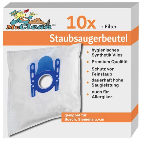 BSGL5ZOODE Zoo´o Pro Animal 10 Mr.Clean Staubsaugerbeutel geeig Bosch BGB45331