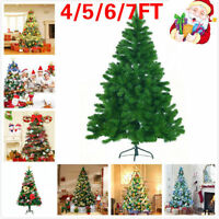 CHRISTMAS X'MAS DECORATION TREE Pine with Metal Stand GREEN TREES