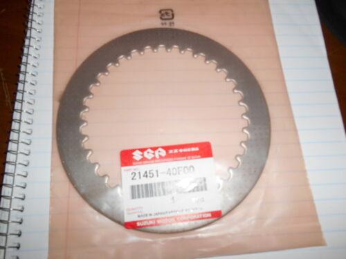 NOS SUZUKI OEM CLUTCH STEEL DRIVEN PLATE 01-04 GSXR1000 GSXR 1000 21451-40F00
