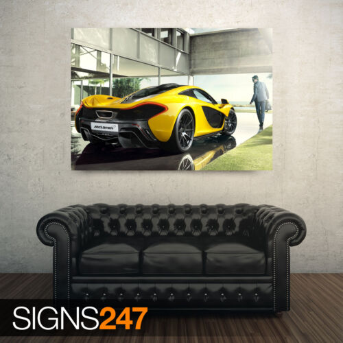 Photo Poster Print Art * All Sizes CAR POSTER AA520 MCLAREN P1 LUXURY CAR