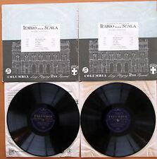 33CX 1211-2 Maria Callas I Pagliacci Di Stefano Serafin La Scala 2xLP Blue Gold