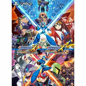 Rockman-X-Anniversary-Collection-1-2-SONY-PS4-PLAYSTATION-4-JAPANESE-VERSION