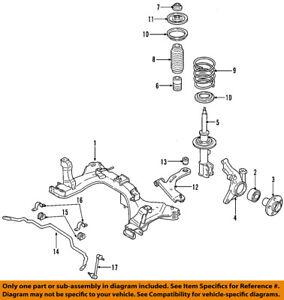 ford oem stabilizer sway bar-front-link 7l8z5k483b | ebay 1997 jeep cherokee sway bar diagram mazda 5 sway bar diagram #10