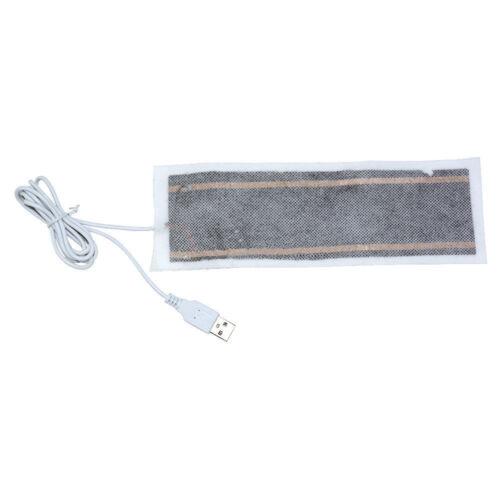 USB Heating Element Film Heater 6x20CM For Warm Feet Hand Warmer Electric Belts