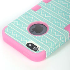 Shockproof Hard Rugged Rubber Protective Cover Case for Apple iPhone 5s 5 SE