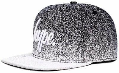 Hype Reflective Script Snapback Cap//Hat Black