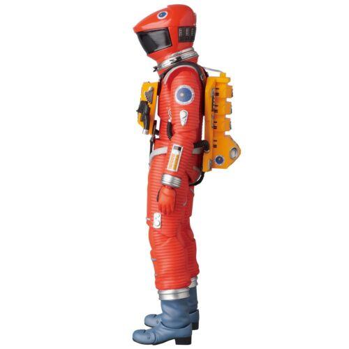 MAFEX 2001 ODISSEA NELLO SPAZIO SPACE Tuta Arancione VER Action Figure Kubrick