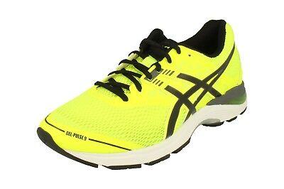 ASICS Men's GEL Pulse 9 Shoe Safety YellowBlackCarbon