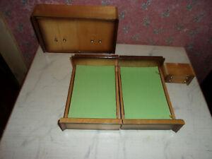 Alte Mobel Schlafzimmer 50 60er Jahre Design Puppenstube Puppenhaus Ca 1 12 Ebay