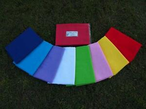 BABY  WRAP   Extra Large,  8 Bright Colours, NEW, 1m x 1.4m, Low Postage
