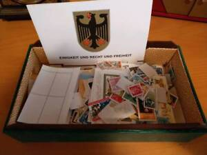300 different used stamps DDR/GDR 1950s to 1990, off paper, Free  UK P&P