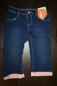 Details about NWT Gymboree Island Cruise Girl Size 2T Cropped Cuffed Denim  Jeans Pants c02f44b0eed