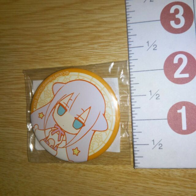 Mahou Sensei Negima Cosplay Costume Accessory High School Uniform Iron Badge