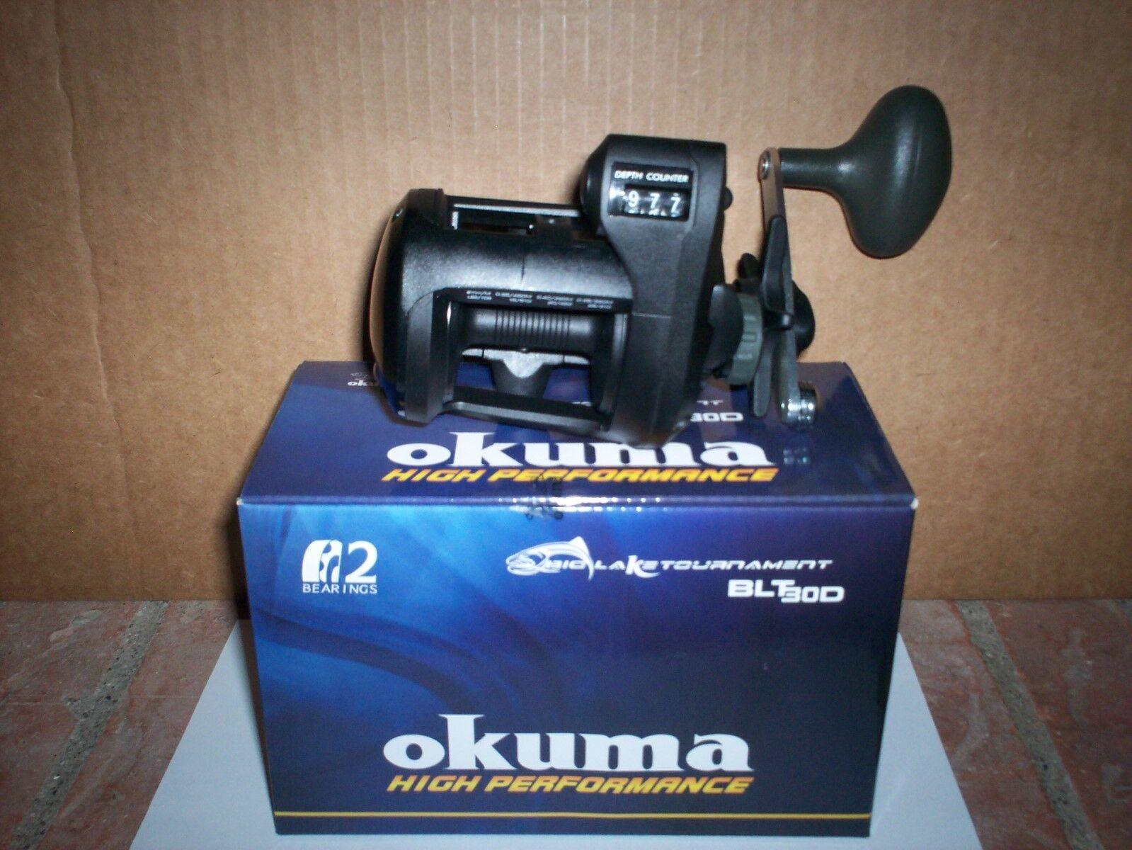 OKUMA BLT30D  TROLLING LINE COUNTER  REEL NEW IN THE BOX