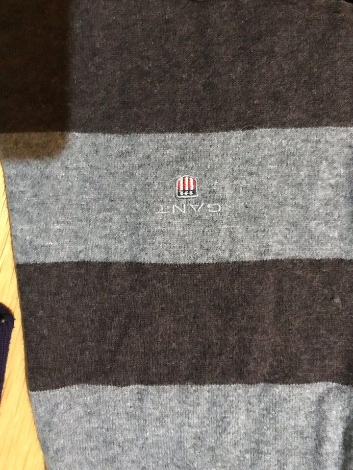 78953387f4a Halstørklæde, gant, brunt og grå – dba.dk – Køb og Salg af Nyt og Brugt
