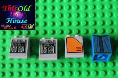 Lego 4x Light Bluish Grey Slope 2x2x2 3678 NEW!!!