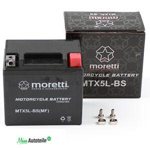 GEL-MOTORRADBATTERIE-MTX5L-BS-YTX5L-BS-MORETTI-50412-ABSOLUT-WARTUNGSFREI-ROLLER