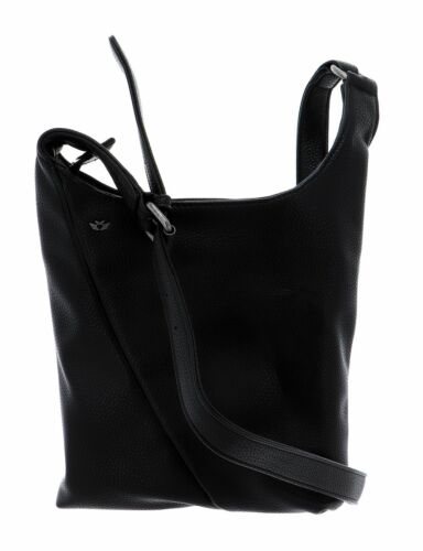 Fritzi aus Preußen Satin Grain Hailey Umhängetasche Tasche Black Schwarz Neu