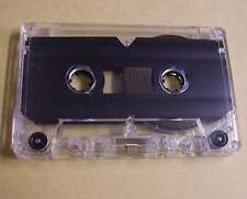 Leerkassette transparent zB Musik Hörspiele Kassetten 2 x 45 min 90 Minuten Neu