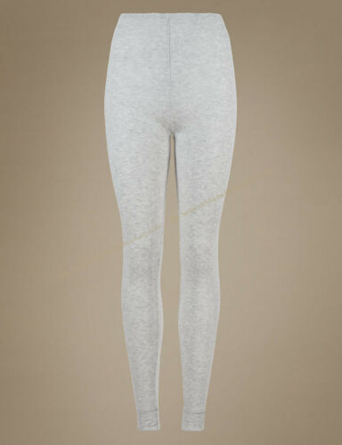 A77 BNWT M/&S Long Johns Thermal Warm Cosy Ankle Length Leggings Pants Size 8-18