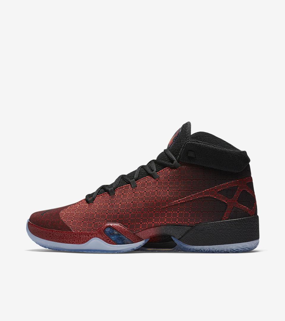 Nike air jordan. 811006-601 palestra red neri e 'scarpe da ginnastica chicago bulls colori