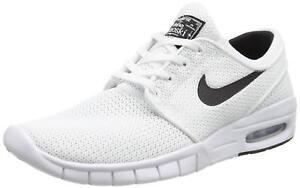 Details about Nike SB Stefan Janoski Max White (631303 100) Men's Size 7