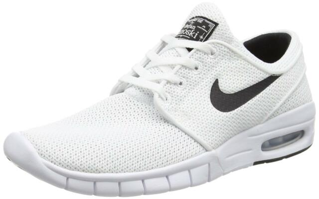 new products d6e22 41f24 Mens Nike SB Stefan Janoski Max White Black 631303-100 US 7 for sale ...