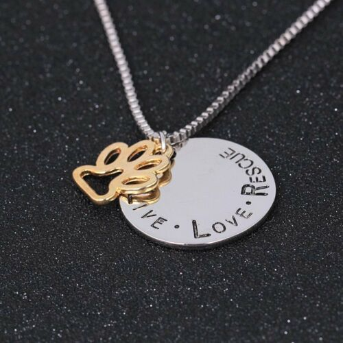 Fashion Stainless Steel Mom//Dad Charm Pendant Necklace Chain Xmas Jewelry Gift