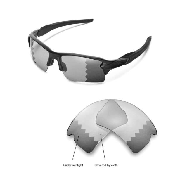 02f8026960 Walleva Polarized Transition Replacement Lenses for Oakley Flak 2.0 ...