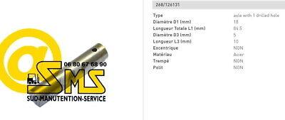 BT 2 DOUILLE BAGUE  TIMON 26 20 18 mm TRANSPALETTE MANUEL LHM230 PIECE DETACHEE
