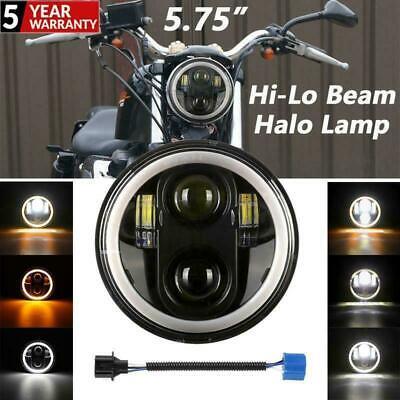 1x 5.75″ LED Headlight Projector fits Harley Davidson Street XG500 Dyna Softails  | eBay