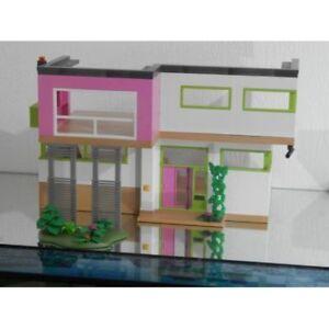 Superbe Maison Contemporaine Vide A Meubler Playmobil 85414 Ebay