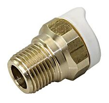 WHALE Quick Connect Pipework Pipe System Adapter Socket 12-15mm X2 pcs