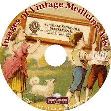 Images of Vintage Medicine Ads {Medical & Pharmacy Advertising} on DVD