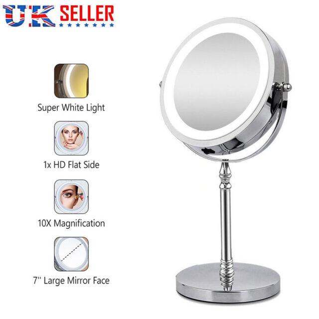 Kedsum Flexible Gooseneck 6 8 10x, Kedsum 6 8 10x Magnifying Led Lighted Makeup Mirror