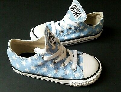 Asst Sizes NWB Converse Girls CT All Star Loopholes OX Black//White Sneakers