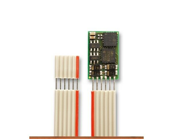 Nuovo scatolaED TRIX 66838 N  GAUGE DIGITAL DECODER 6-PIN LOKDECODER NEM-(S) SELECTRIX  online economico