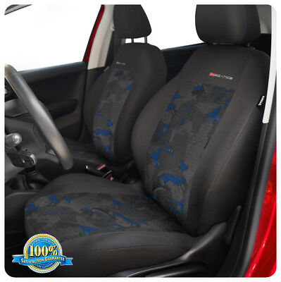 CAR SEAT COVERS full set fit Volkswagen Polo charcoal grey