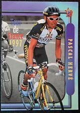 Festina - Lotus    Tour de France    Pascal Herve     Photo Card # EXC