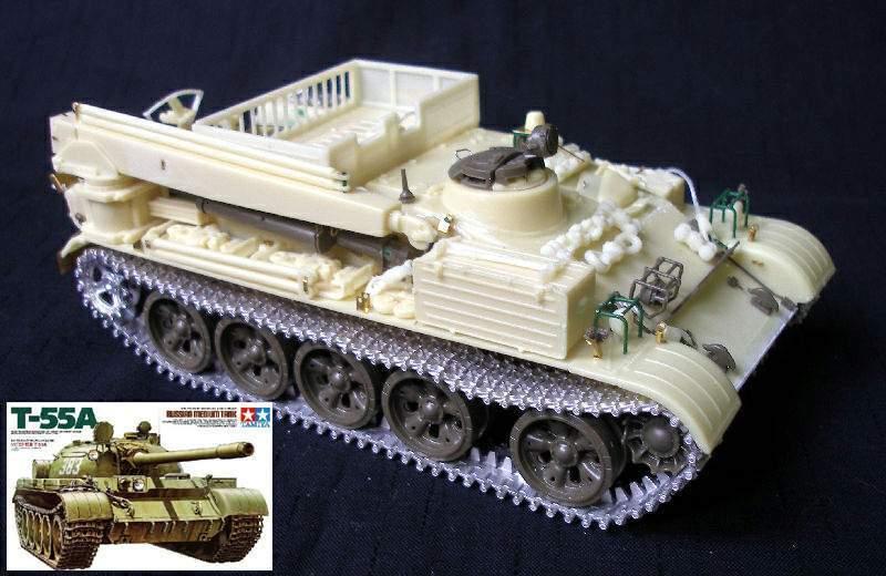 VT-55 & T-55A COMBI set 1 35 PanzerShop Tamiya